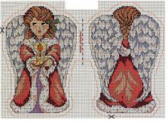 Punto croce - Schemi e Ricami gratuiti: Angeli e sampler a punto croce