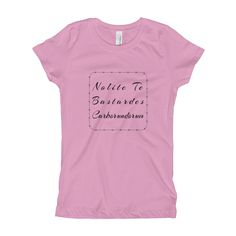 Nolite Te Bastardes Carborundorum Barbed Wire Girl's T-Shirt