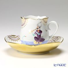 Meissen Coffee Cup & Saucer