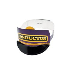 Conductor hat medium conductors hats and polar express theme conductor train hats orientaltrading pronofoot35fo Gallery