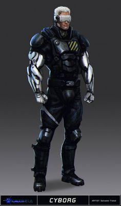 Cyntopia - Cyborg Concept Art by SalvadorTrakal on DeviantArt