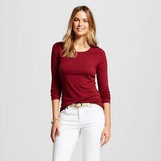 Women's LS Layering Tee - Merona™ : Target