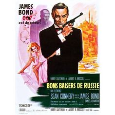 From Russia With Love (Aka Bons Baisers De Russie) Canvas Art - (11 x 17)