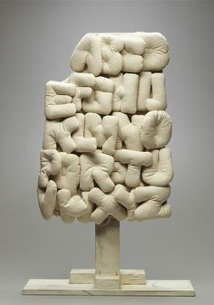 Claes Oldenburg (b1982) is an American sculptor, best known for his public art installations typically featuring very large replicas of everyday objects. Another theme in his work is soft sculpture versions of everyday objects.