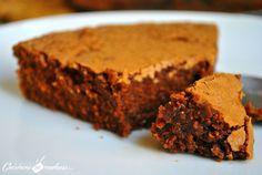 """Gâteau au chocolat recette de Tante Marie un peu plus """"légère"""""""
