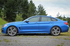 BMW 4 Series Gran Coupe Side View