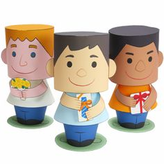 Message Doll (Father on His Day off) - Others - Parties & Events - Paper…