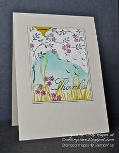 Stampin' Up ideas and supplies from Vicky at Crafting Clare's Paper Moments: Inspired by colour