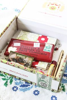 How to make an Emergency Joy Kit. This one is in a Vintage Cigar Box by Anne Butera of My Giant Strawberry