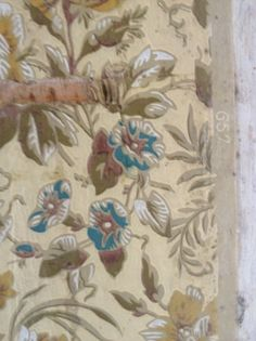 Antique wallpaper No. 657 - found in the attic of this Middle Street home in Newburyport