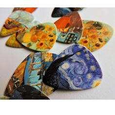 Check out these Van Gogh inspired picks - Van Gogh Plectrum | Art Tribute