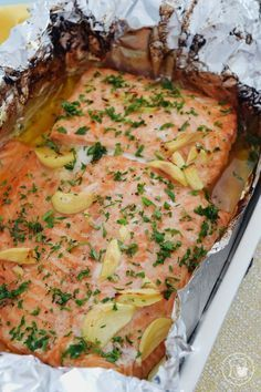 Ideas Recipe Seafood Restaurant For 2019 Salmon Recipes, Fish Recipes, Seafood Recipes, Cooking Recipes, Healthy Recipes, Cooking Fish, I Love Food, Good Food, Yummy Food
