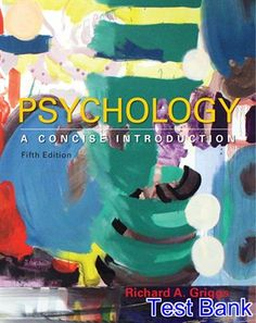 Download ebook pdf free httpaazeabookprinciples of test bank for psychology a concise introduction 5th edition by griggs ibsn 9781464192166 fandeluxe Gallery