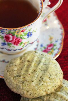 Jo and Sue: Chai Tea and Lemon Cookies*use as inspiration to create your own.