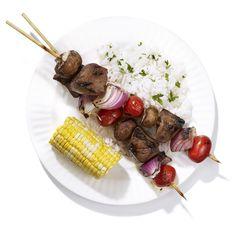 Sirloin Kabobs #healthyfamilydinners #grill