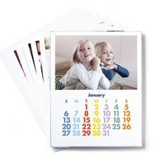 Acrylic Framed Monthly Photo Calendar