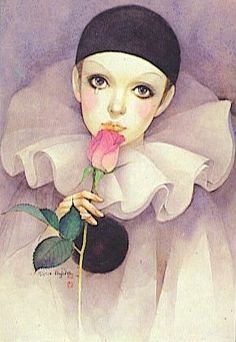 pierrot - 80s classic bedroom poster
