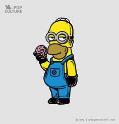 Simpsons X Despicable Me