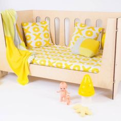 Yellow Toddler room.  Love it