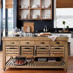 Modern Rustic Kitchen #kitchen #rustic #kitchencabinets