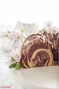 Rezept für den saftigsten und lockersten Marmorkuchen, den ich kenne #rezept #backen #kuchen