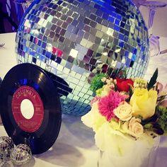 #disco #party #centerpiece #kids #party #kidsparties #ideas by #wecandoit