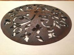 Plow disk metal art
