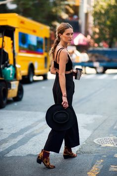 Celebrity Style - Erin Wasson in  Rodarte - monstylepin #celebrity #style #streetstyle