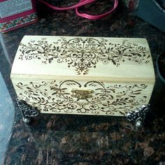 Another wood burn box