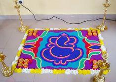 ganesh rangoli designs for diwali - Google Search