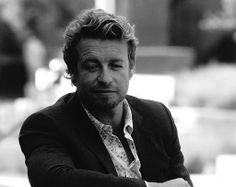 Simon Baker, The Mentalist, Aussies, Bones, Castle, Black And White, Celebrities, People, Celebs