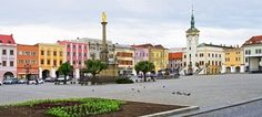 Picture of Town square in Kromeriz - Czech Republic stock photo, images and stock photography. Europe Photos, Prague Czech, Florida Usa, Old City, Czech Republic, Street View, Cooking, Awesome, Beautiful