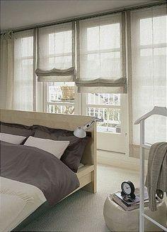 Perde Modelleri | Curtain | Tül katlamalı perde, çok farklı bir hava katmamış mı? doğal renkleri ve kumaşı katlamalı perde modeli ile birleşince bambaşka bir duruş sergilemiş. http://www.perdealemi.com