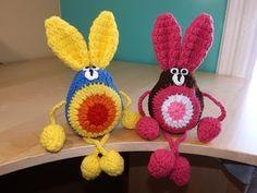 Crochet Conejito De Pascuas - YouTube