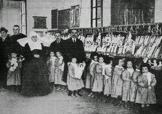 1919. Reyes Magos en la Beneficencia.