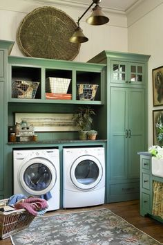Best 20 Laundry Room Makeovers - Organization and Home Decor Laundry room decor Small laundry room organization Laundry closet ideas Laundry room storage Stackable washer dryer laundry room Small laundry room makeover A Budget Sink Load Clothes Built Ins, Home, Vintage Laundry Room, Room Inspiration, Stylish Laundry Room, Remodel, House, Room Makeover, Room Design