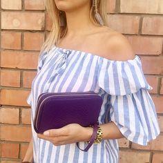 Billetera de cuero Julieta en morado  / PLUMSHOPONLINE.COM – Carteras de cuero y moda para mujeres de la marca Plum – Compra por internet con envío Gratis a todo Perú e inmediato a todo el mundo. - Shop online your best leather and fashion women's with inmediate world wide shipping #handbags #carteras #handbags #bags #moda #fashion #style #fashion outfit # clutch #cartera #handbag #bag #leather handbags #fashion handbags #carteras de moda #carteras para mujer