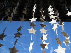 Mädchenkram: DIY Sternen-Vorhang