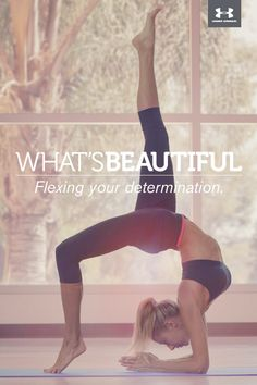 What's Beautiful.  Flexing your determination. #whatsbeautiful @Joann Matthews Armour