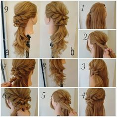 No photo description available. About Hair, Prom Hair, Face And Body, Wedding Hairstyles, Braids, Hair Beauty, Long Hair Styles, Photo And Video, Stylish