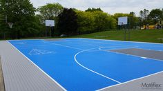 https://flic.kr/p/Aomx49 | 20140521_104922  Outdoor basketball court, Mateflex, modular flooring