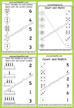 Number Worksheets Kindergarten, 5th Grade Worksheets, Phonics Worksheets, Free Printable Worksheets, Free Printables, Kindergarten Phonics, Math Resources, Learning Activities, Number Chart