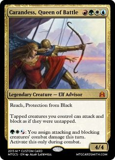 Primary Commander for the Polis Defenders EDH Deck.