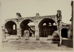 Ruins of the Basilica of Constantine | Works | James Anderson | People | George Eastman Museum