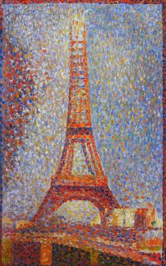 The Eiffel Tower by George Seurat