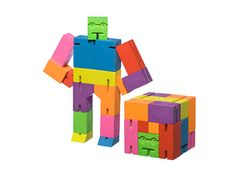 AREAWARE cubebot now comes in so many cool colors. Great car toy.