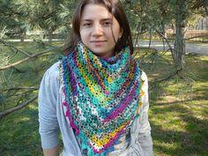 esarfa multicolora (multicolor shawl)