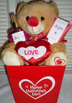 Victoria's Secret Valentine's Basket