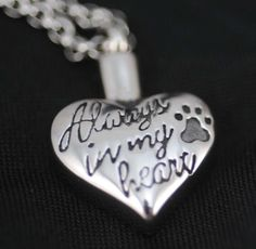 PET Urn Jewelry for your dog, new $20