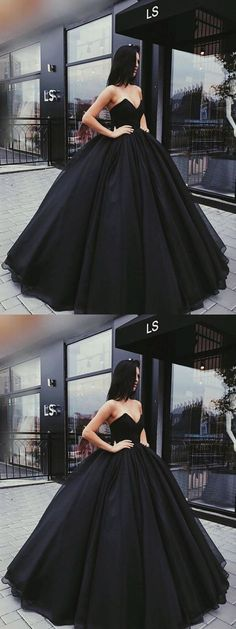 Stylish A-Line Sweetheart Ball Gown Black Satin Long Prom/Ev.- Stylish A-Line Sweetheart Ball Gown Black Satin Long Prom/Evening Dress prom,prom dress, black prom dress, evening dresses, 2018 prom dress - Prom Dresses 2018, Cheap Prom Dresses, Quinceanera Dresses, Formal Dresses, Formal Prom, Dress Prom, Prom Dresses Black Long, Wedding Dresses, Party Dress